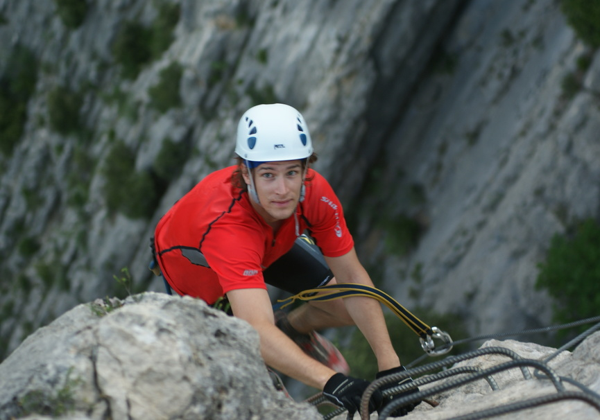 Medium via ferrata raid edhec