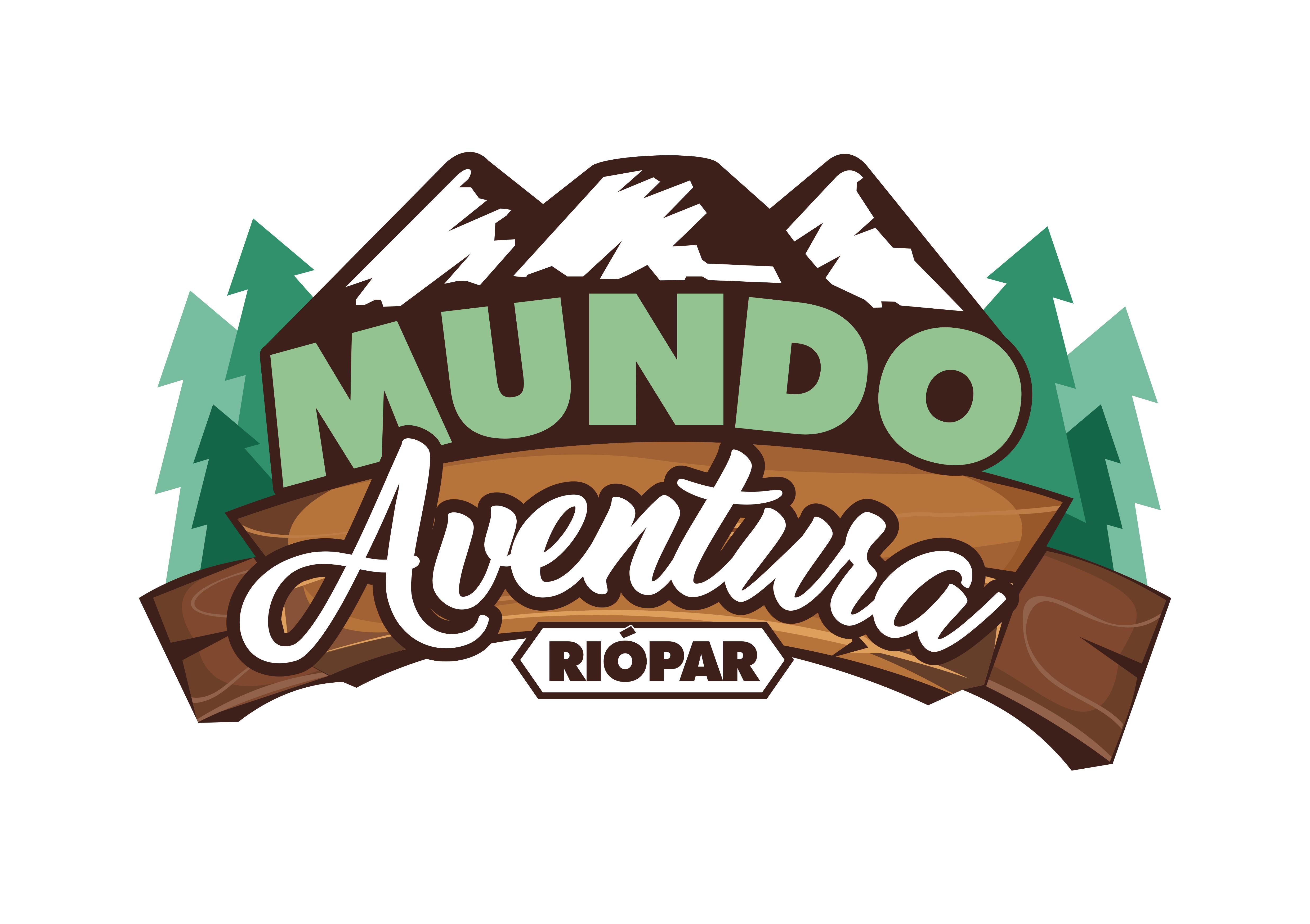 Logotipo mundo aventura