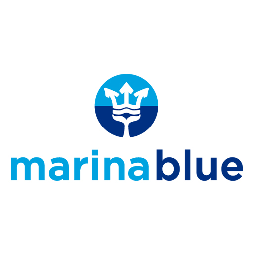 Marina blue logotipo completo