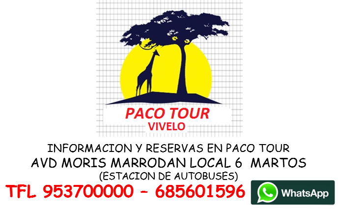 Paco tour ultimo