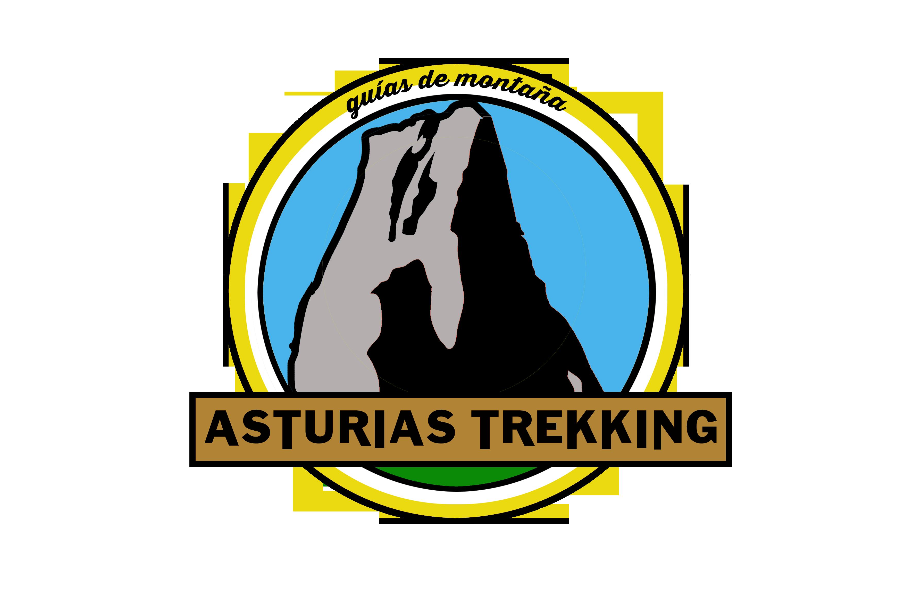Logo asturias trekking trans
