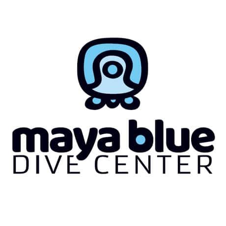 Maya blue diving